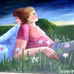 Простодушная коми-пермяцкая живопись. Экспозиция в школе д. Малая Серва