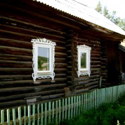 Вездесущие пластиковые окна… Д. Малая Серва