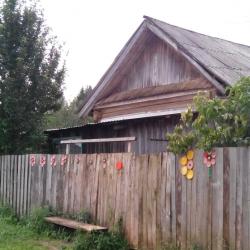 Судя по всему, жители Большой Кочи - довольно жизнерадостные люди: их дома и дворы украшены и раскрашены в самые яркие цвета. Это особенно интересно, так как исследование цветовосприятия коми-пермяков - часть нашего эксперимента.